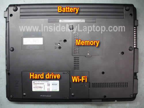 Разборка ноутбуков HP Compaq