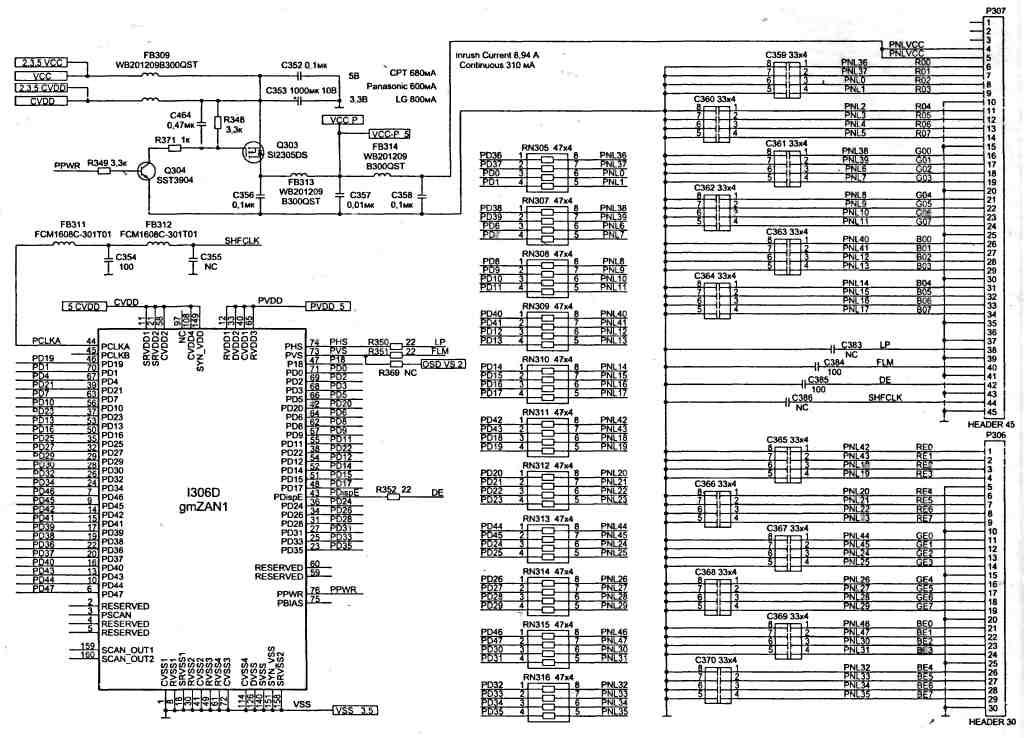 Разборка монитора, напряжения обмотки 7 - 8 не В мониторах применяются импульсные блоки питания, и много других...