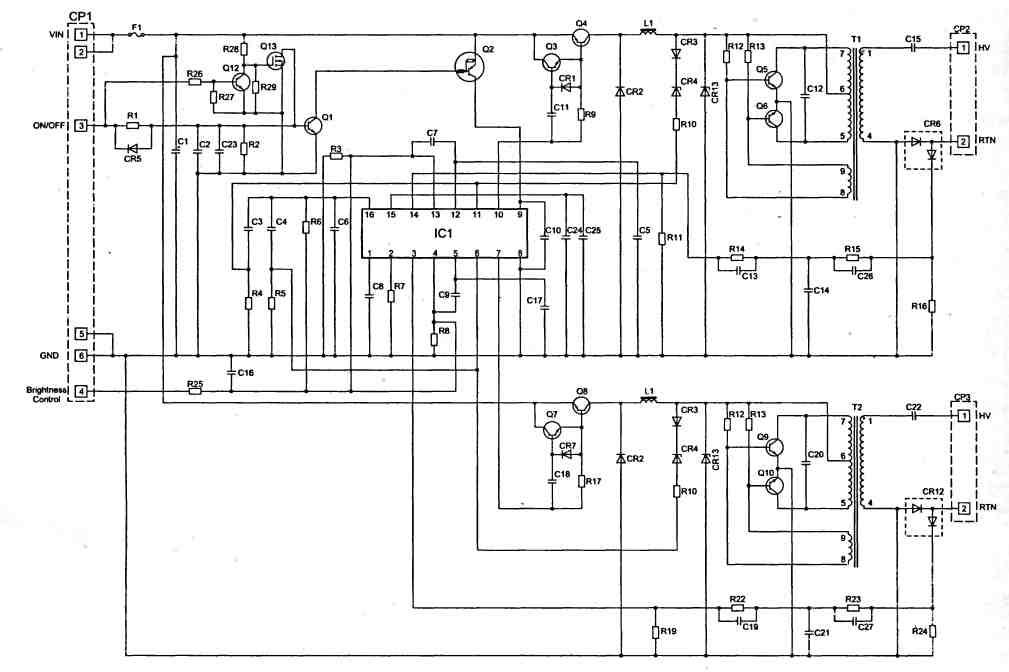 LCD-контроллер 7701 (выв.