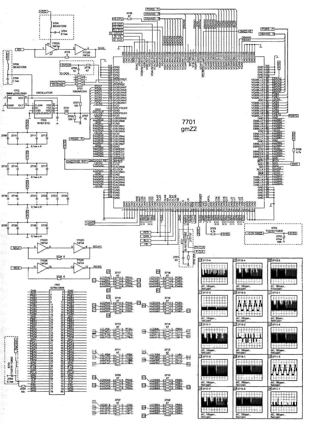 Принципиальыне схемы из раздела Микроконтроллеры.  Схемы на МК - Микроконтроллеры - Каталог схем - Портал.